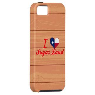 Amo la tierra del azúcar, Tejas iPhone 5 Cárcasa
