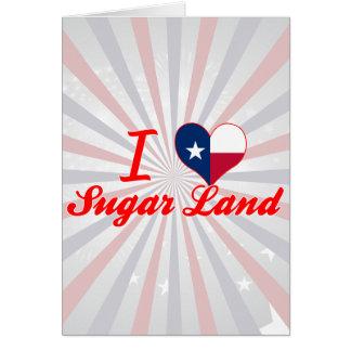Amo la tierra del azúcar, Tejas Felicitacion