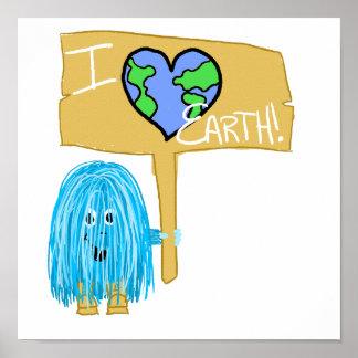 Amo la tierra posters