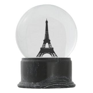 Amo la torre Eiffel de París Bola De Nieve