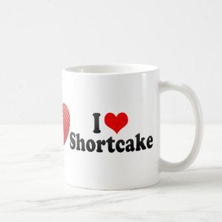 Amo la torta de frutas tazas
