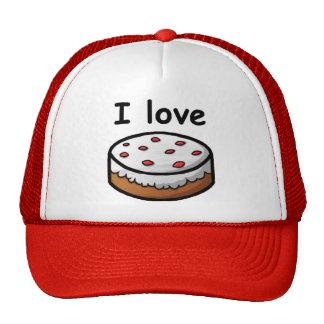 Amo la torta gorras de camionero