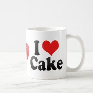 Amo la torta tazas