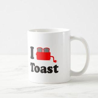 Amo la tostada taza