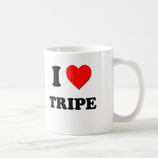 Amo la tripa taza de café