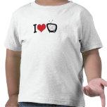 Amo la TV Camisetas