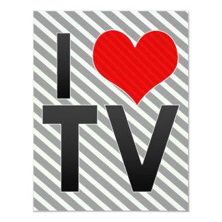 """Amo la TV Invitación 4.25"""" X 5.5"""""""