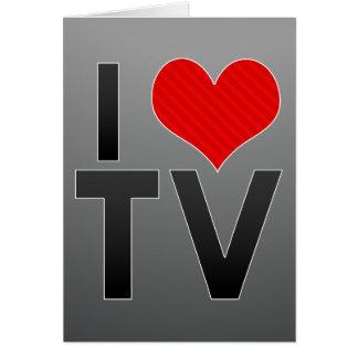Amo la TV Tarjeta Pequeña