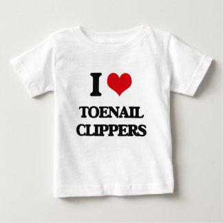 Amo la uña del pie Clippers Playera