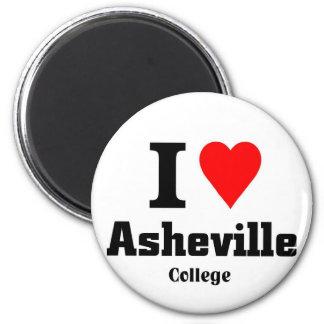 Amo la universidad de Asheville Imán De Nevera