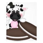 Amo la vaca de leche membrete
