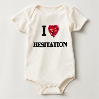Amo la vacilación trajes de bebé