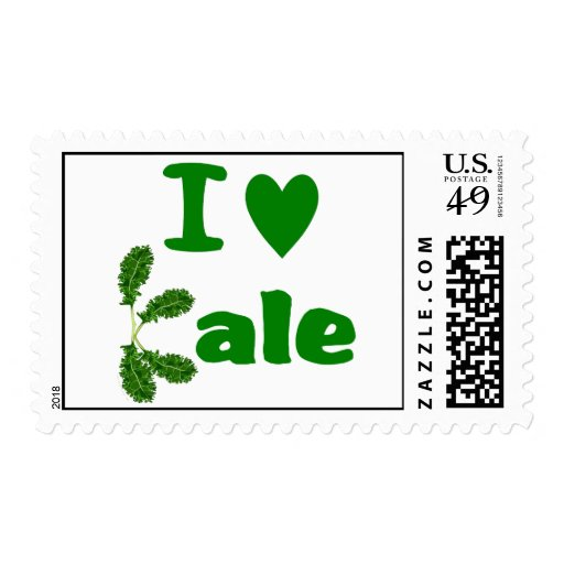 Amo la verdura/al jardinero de la col rizada (col sellos