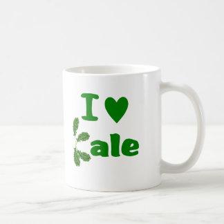 Amo la verdura/al jardinero de la col rizada (col taza de café