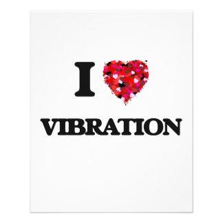 """Amo la vibración folleto 4.5"""" x 5.6"""""""