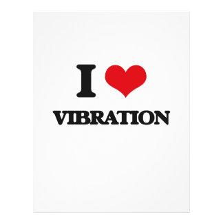 """Amo la vibración folleto 8.5"""" x 11"""""""
