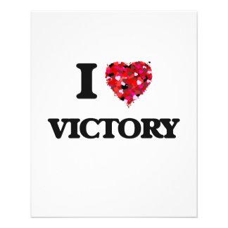 """Amo la victoria folleto 4.5"""" x 5.6"""""""
