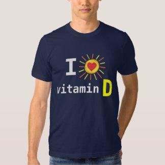 Amo la vitamina D Playera