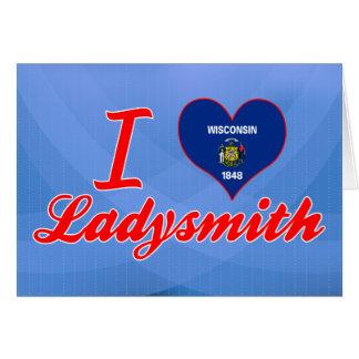 Amo Ladysmith, Wisconsin Felicitacion