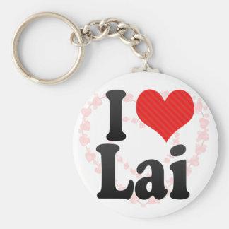Amo Lai Llavero Personalizado