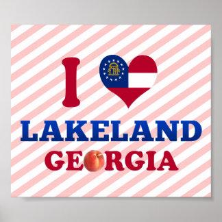 Amo Lakeland, Georgia Póster