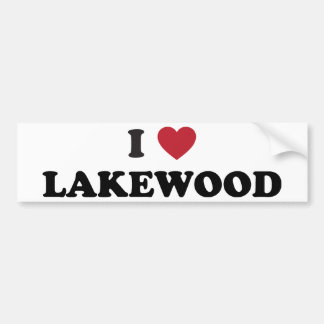 Amo Lakewood Colorado Pegatina Para Auto