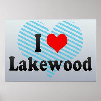 Amo Lakewood, Estados Unidos Posters