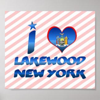 Amo Lakewood, Nueva York Posters