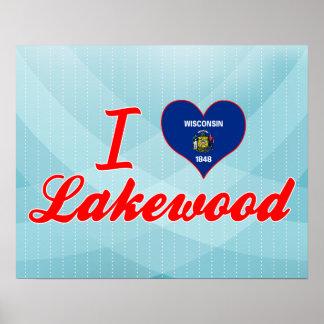 Amo Lakewood, Wisconsin Poster