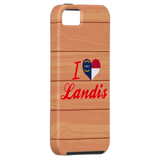 Amo Landis, Carolina del Norte iPhone 5 Case-Mate Cárcasas