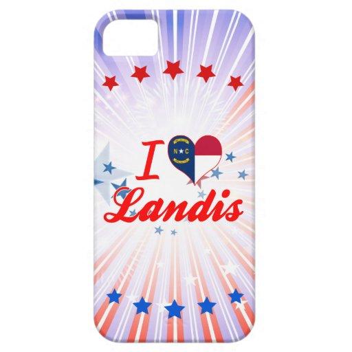 Amo Landis, Carolina del Norte iPhone 5 Case-Mate Funda