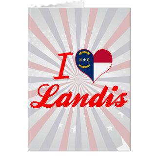 Amo Landis, Carolina del Norte Tarjetas