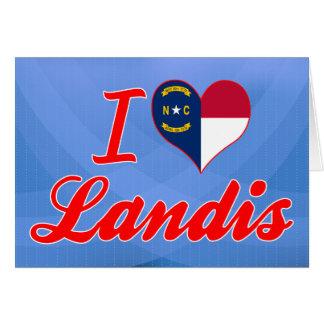 Amo Landis, Carolina del Norte Tarjeton