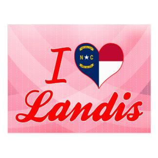 Amo Landis, Carolina del Norte Tarjetas Postales