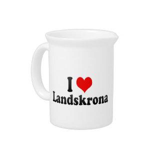 Amo Landskrona, Suecia Jarron