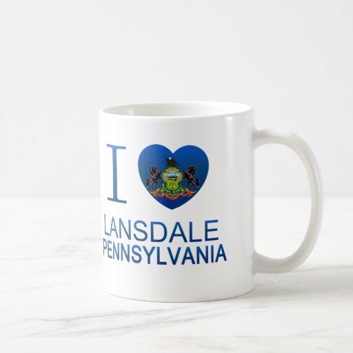 Amo Lansdale, PA Tazas De Café