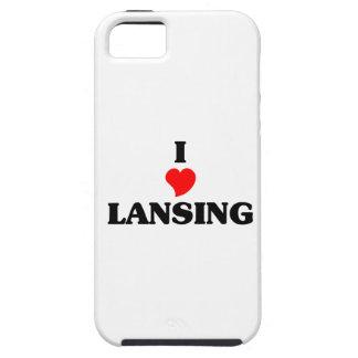 Amo Lansing iPhone 5 Funda