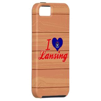 Amo Lansing, Michigan iPhone 5 Fundas