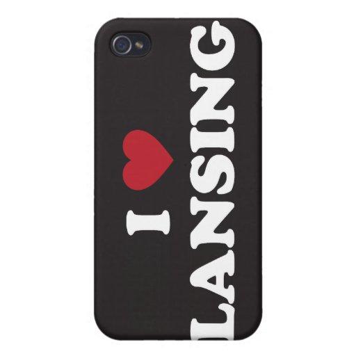 Amo Lansing Michigan iPhone 4 Carcasas