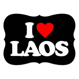 AMO LAOS INVITACIÓN 12,7 X 17,8 CM