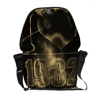Amo las 1932 - vintage del relámpago - bolsas de m bolsa de mensajeria