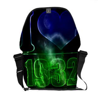 Amo las 1932 - vintage mágico de la noche - bolsas bolsa de mensajeria