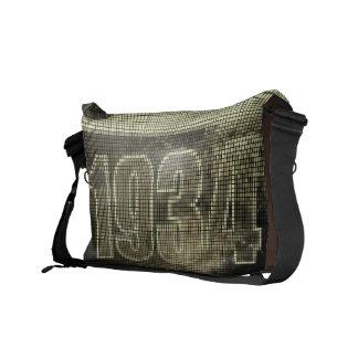 Amo las 1934 - vintage del pixel - bolsas de mensa bolsas de mensajeria