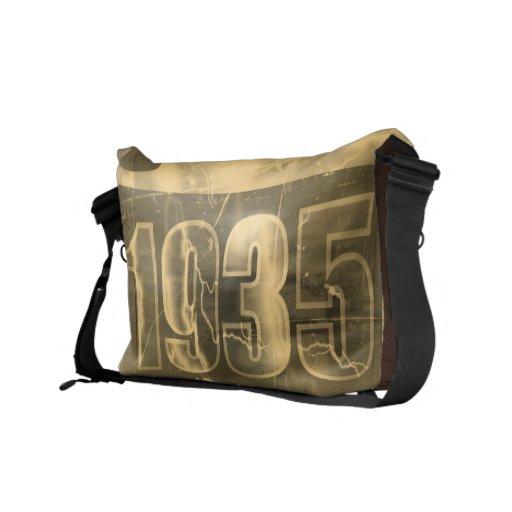 Amo las 1935 - vintage - bolsas de mensajero bolsas de mensajeria