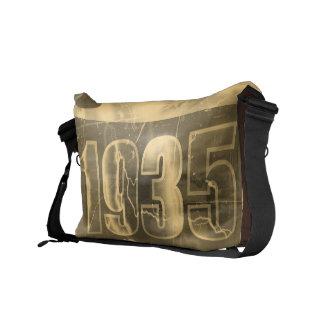 Amo las 1935 - vintage - bolsas de mensajero bolsa de mensajeria