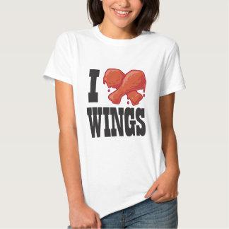 Amo las alas de pollo playera