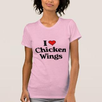 Amo las alas de pollo t-shirts