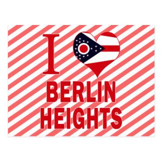 Amo las alturas de Berlín, Ohio Postales