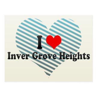 Amo las alturas de la arboleda de Inver, Estados Tarjetas Postales