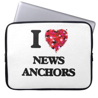 Amo las anclas de las noticias fundas ordendadores